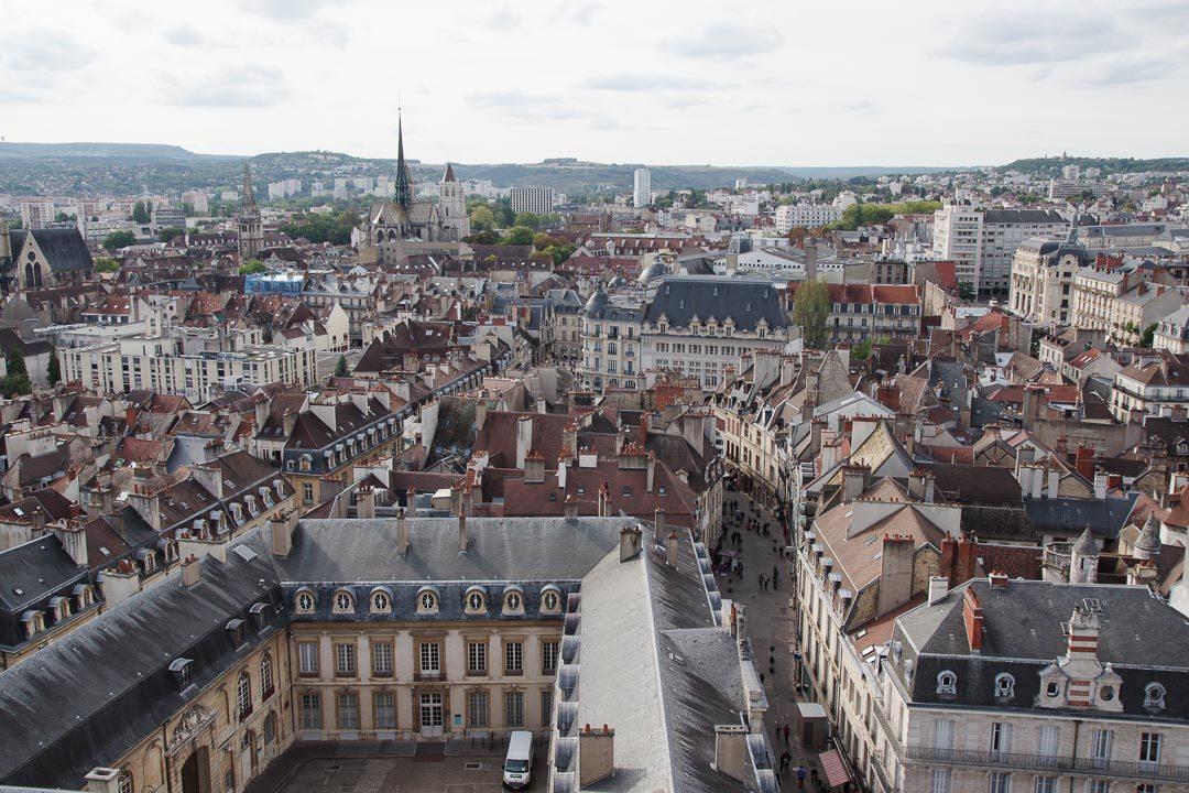panorama sur Dijon depuis la Tour Philippe le Bon
