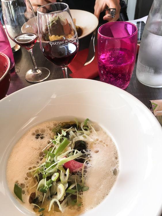 plat risotto aux escargots de Bourgogne