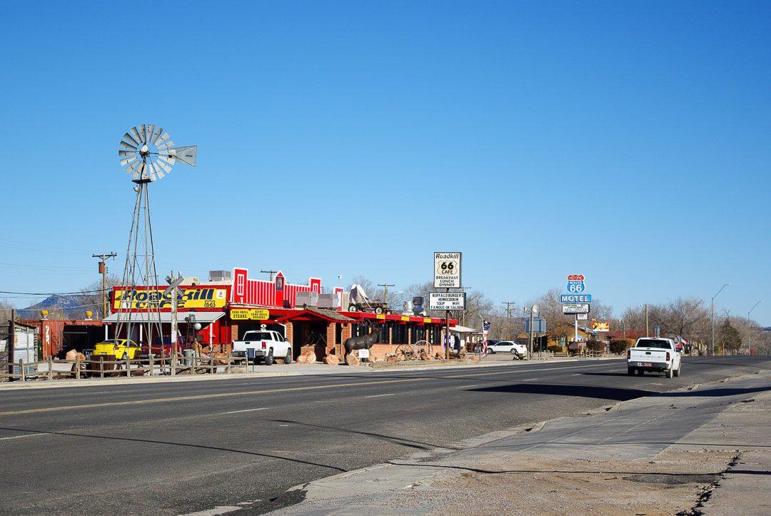 ville sur la route 66