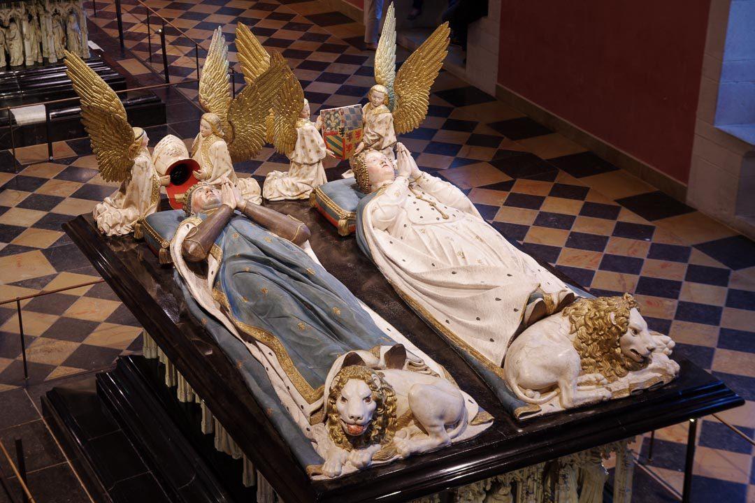 Tombeaux des Ducs de Bourgogne au musée des beaux art de Dijon