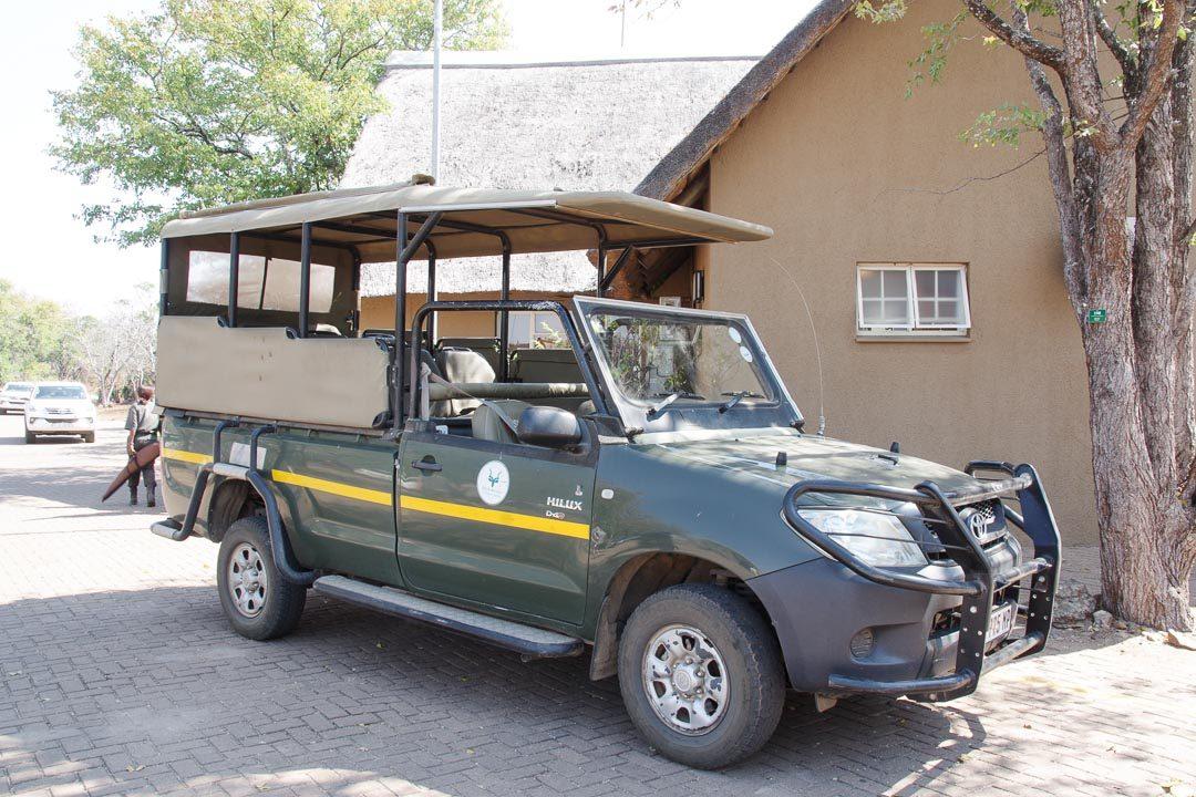 voiture de safari - Parc Kruger