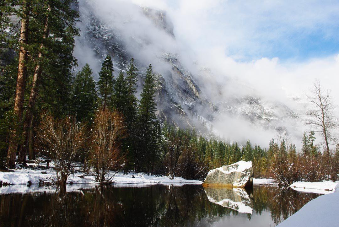 randonnée à Yosemite