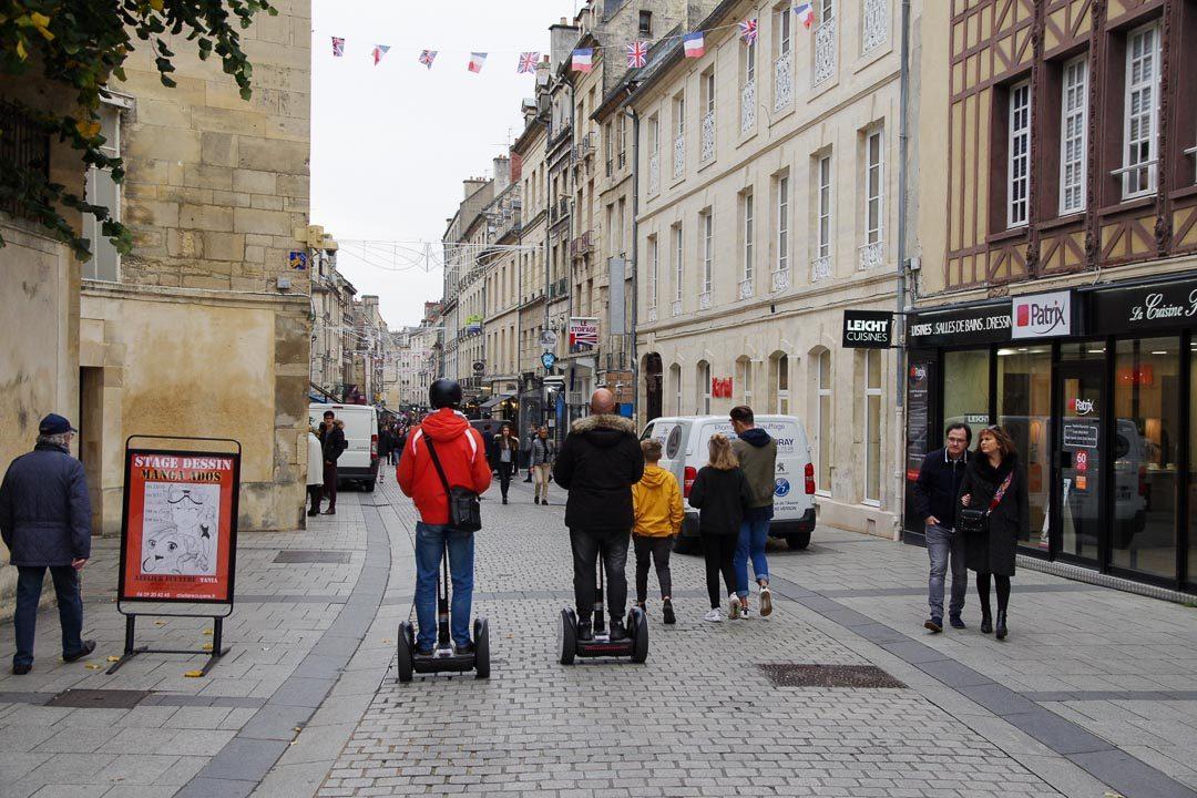 Balade en gyropode dans les rues de Caen