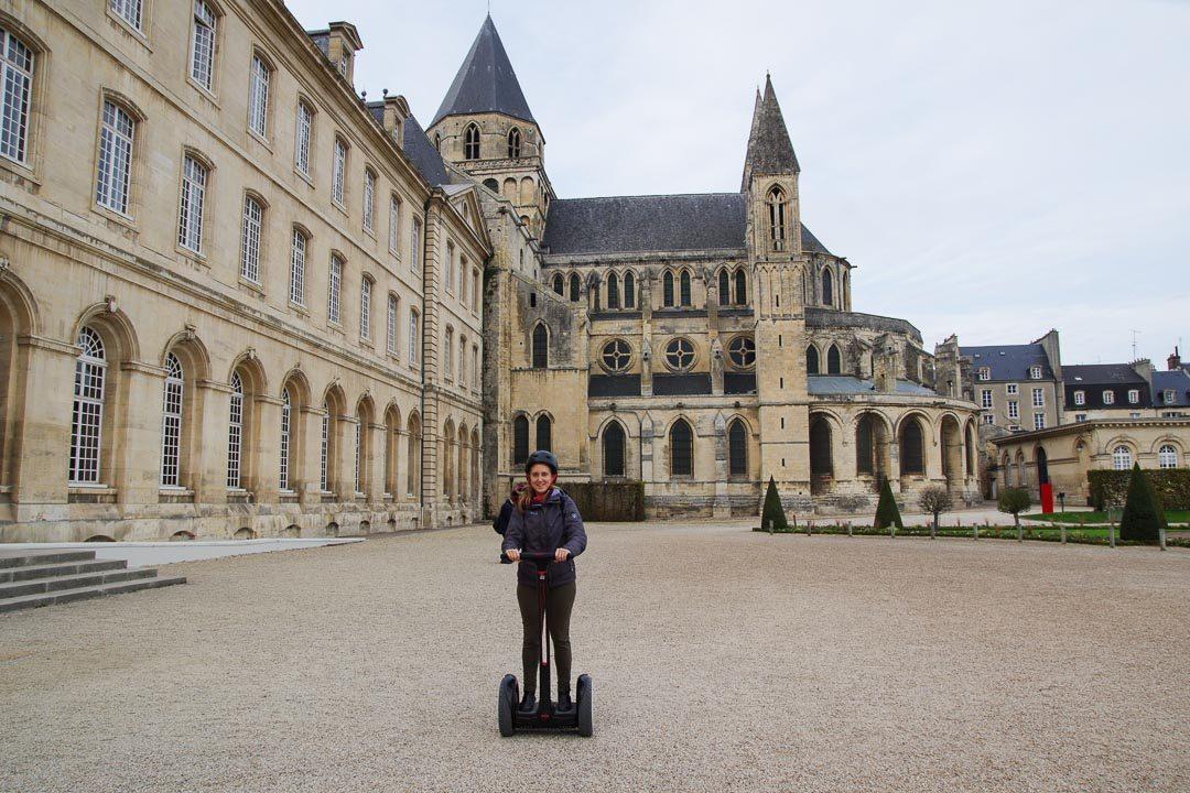 Balade dans Caen en Gyropode avec Com'on Gyro