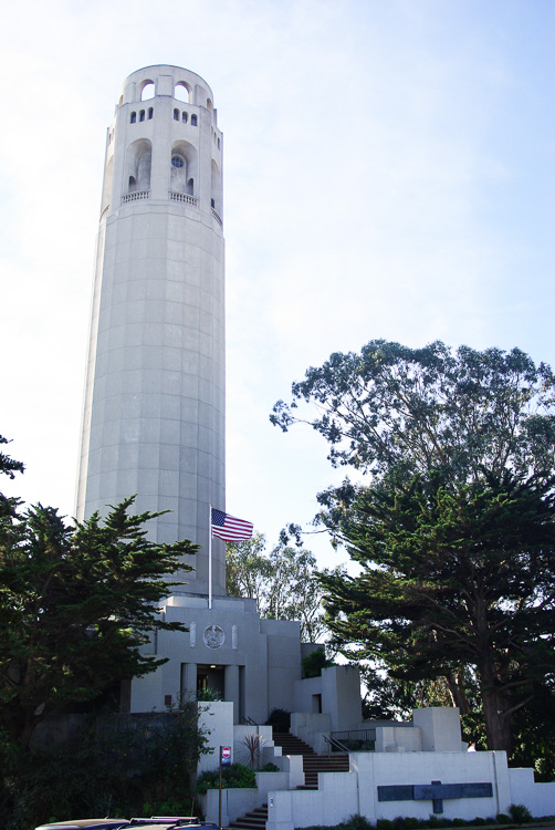 la Coit Tower de San Francisco
