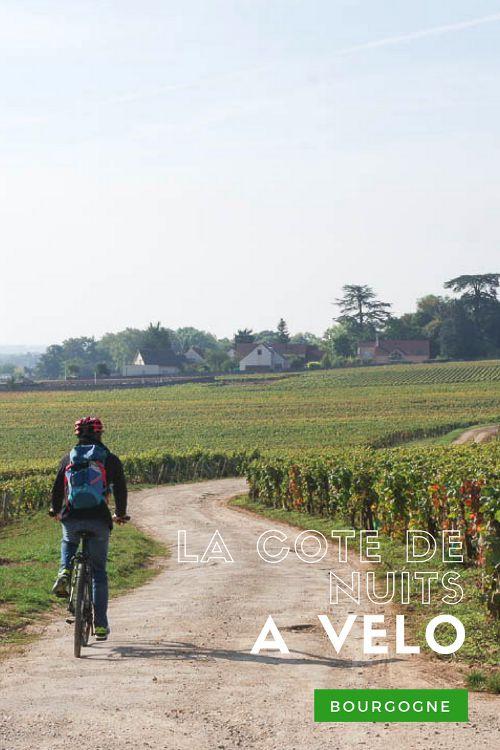 Excursion à vélo dans les vignobles de la côte de nuits autour de #Dijon #Bourgogne