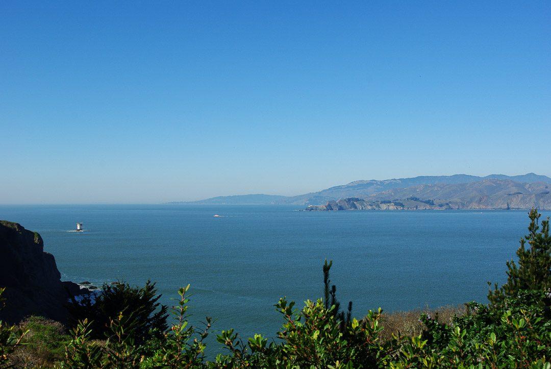 Panorama sur la baie de San Francisco