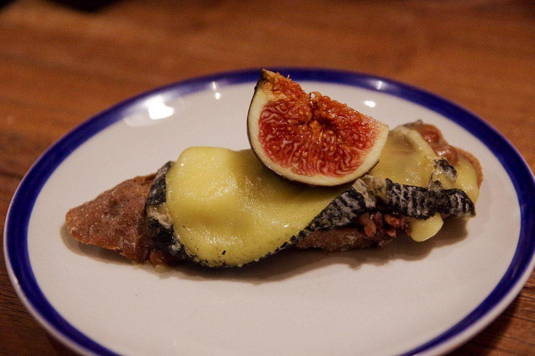 tartine de fromage bleu des pays bas