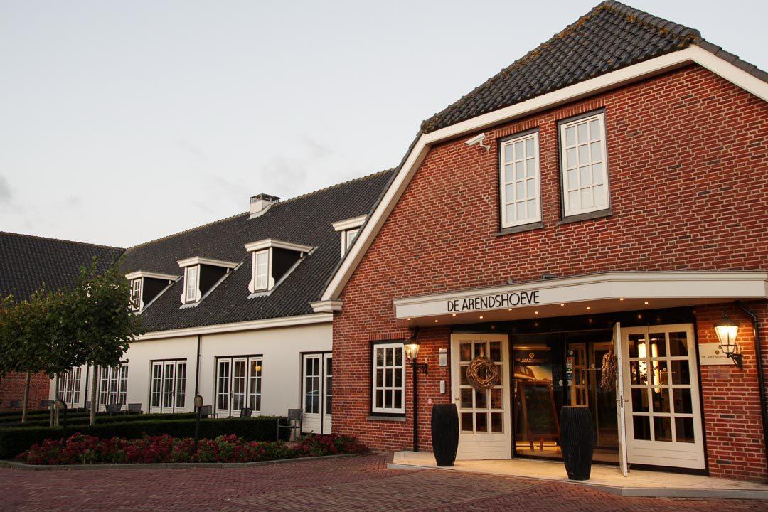 entrée de l'hôtel De Arendshove