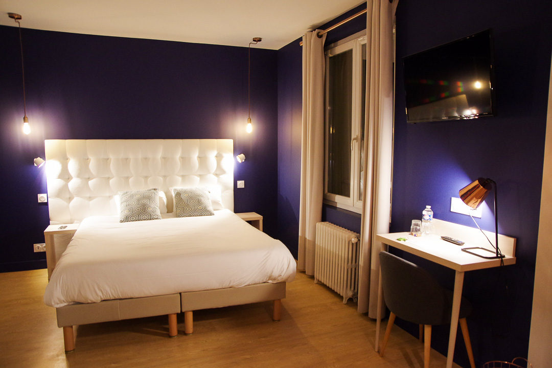 Chambre Hôtel de la Fontaine à Caen