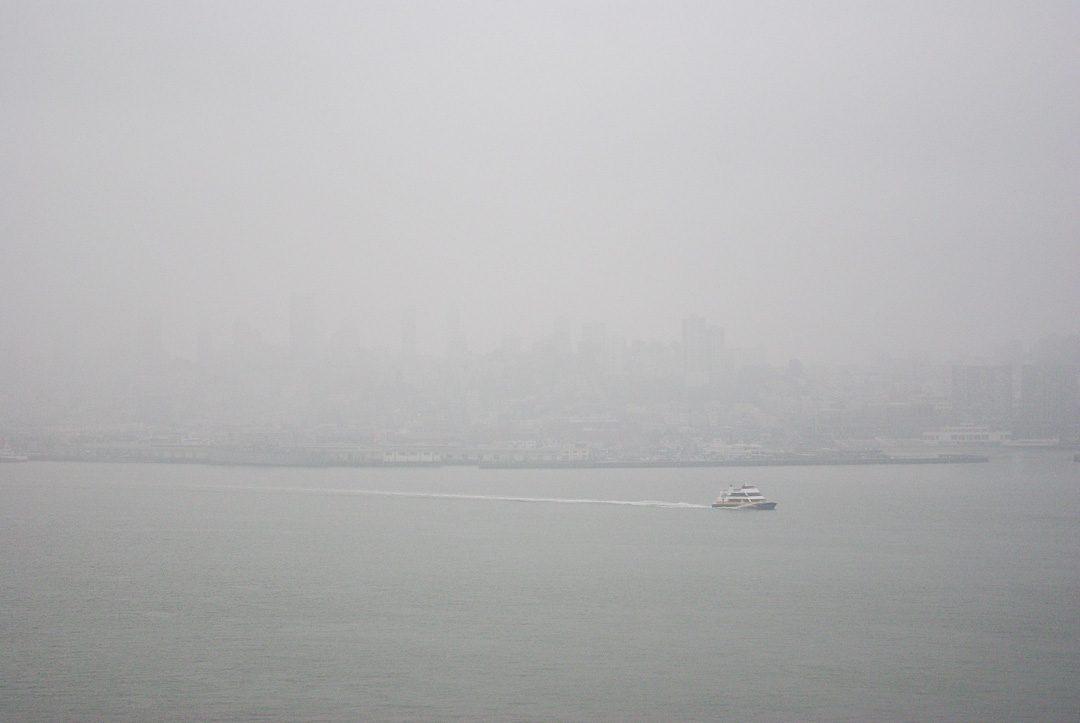 San Francisco dans le Brouillard