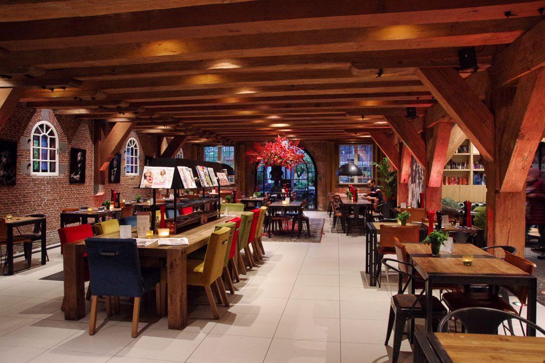 Salle du restaurant Van Rossum - Woerden