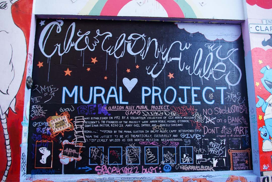 Street Art Clarion Alley - Misson