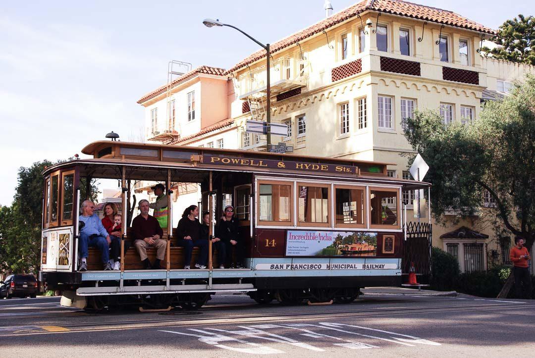 le tramway de San Franscico
