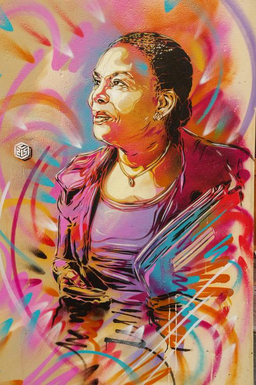 Portrait de Christiane Taubira - C215