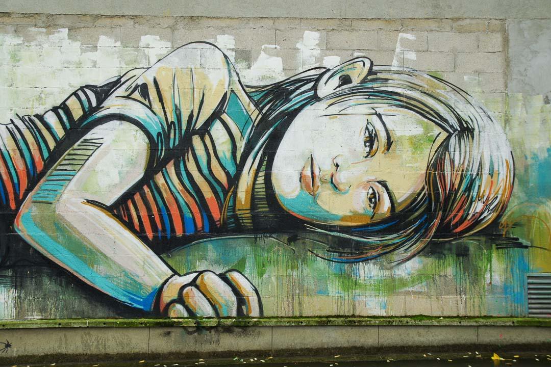 Fresque street art à Vitry sur Seine