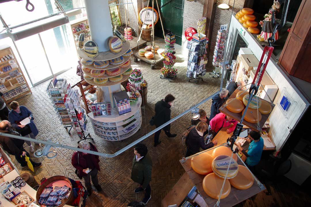 la maison du poids public et le musée du fromage de Gouda