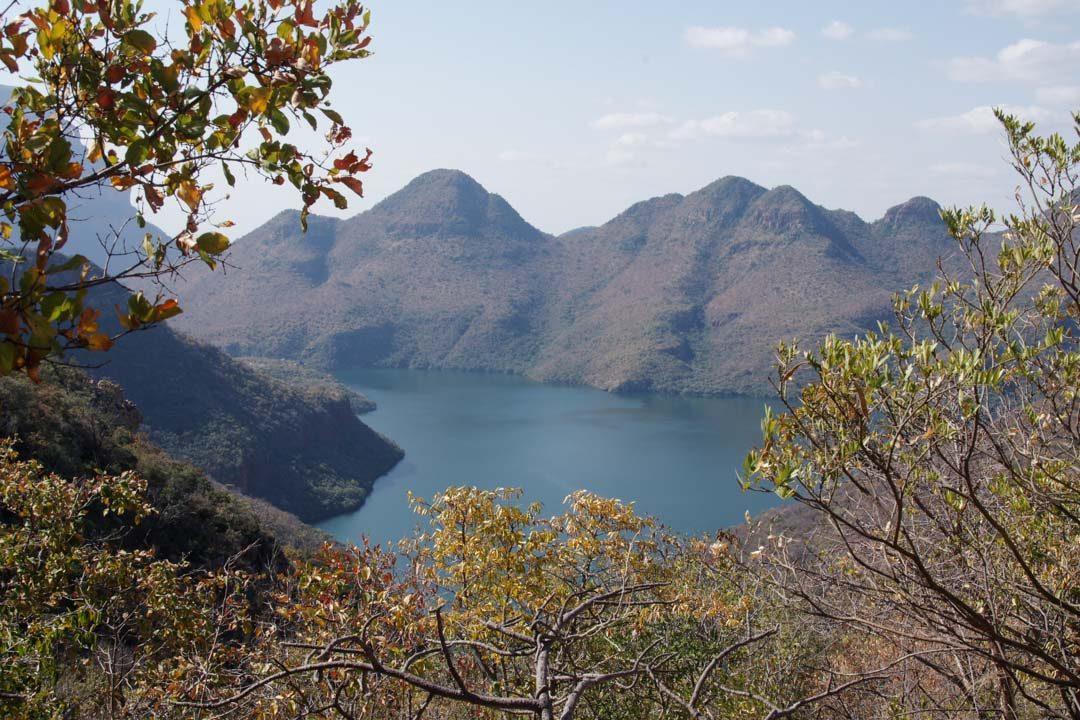 Vue sur la Blyde River - Afrique du Sud