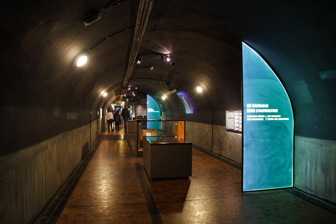 Bunker du Général Richter sous le Mémorial de Caen
