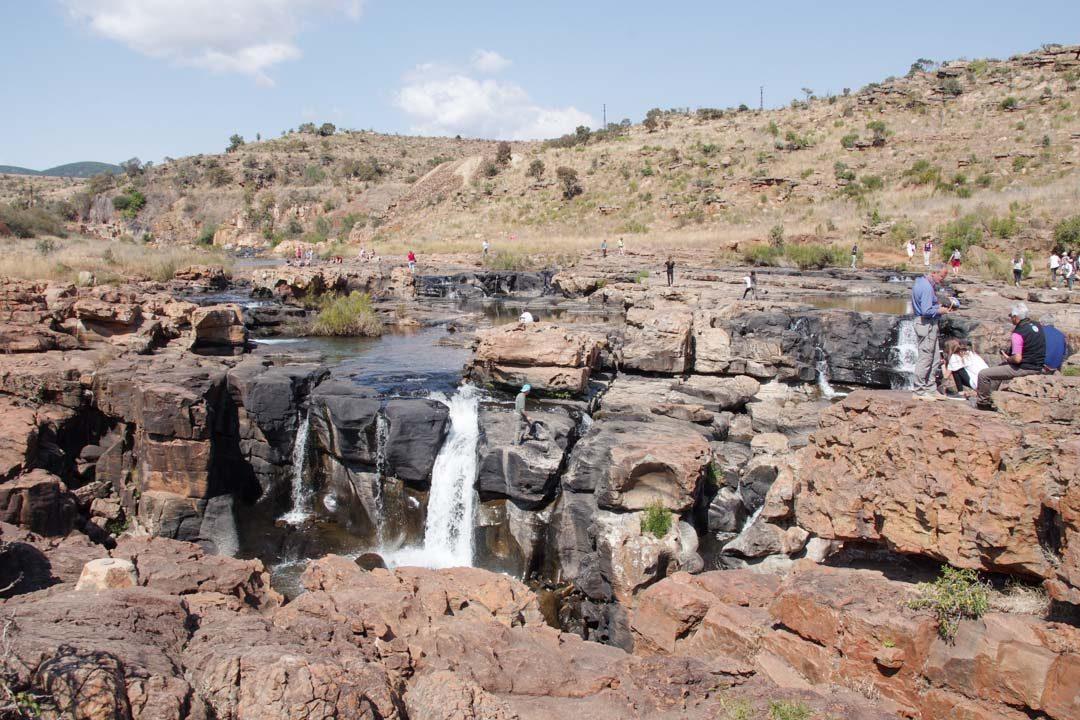 Les cascades du site de Bourke's Luck Potholes