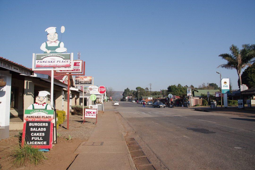Centre ville de Graskop