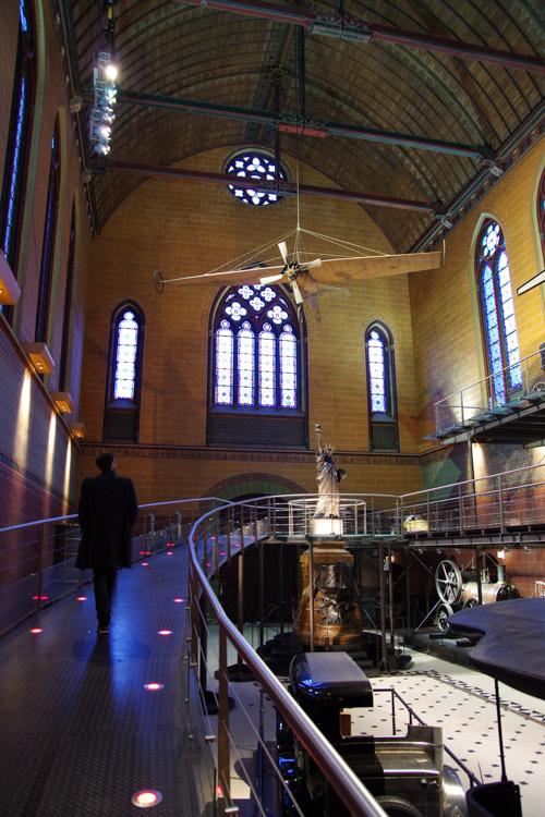 Intérieur de l'église saint martin des champs