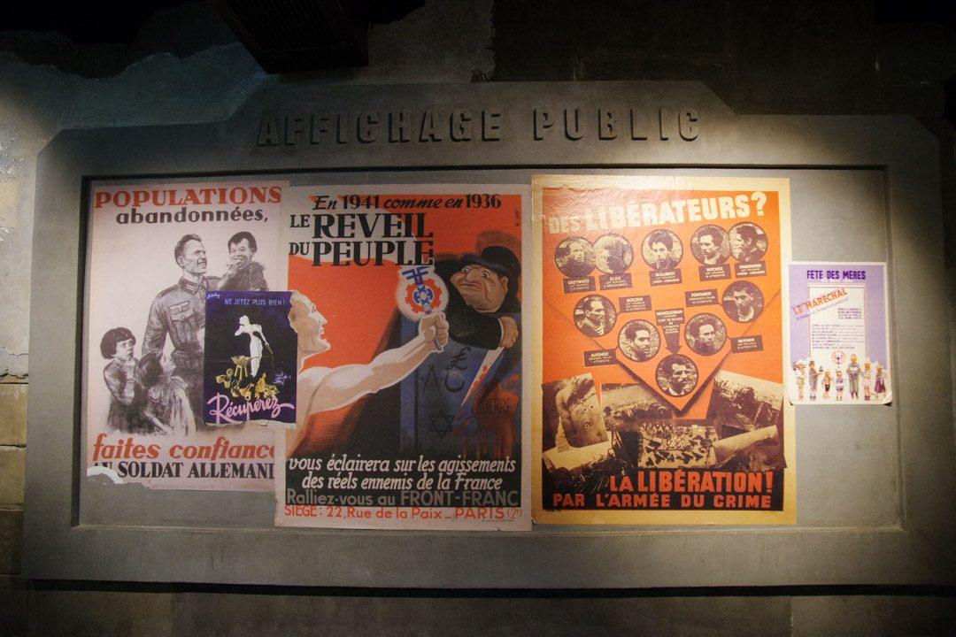 Affiches de la France des Années Noires - Mémorial de Caen