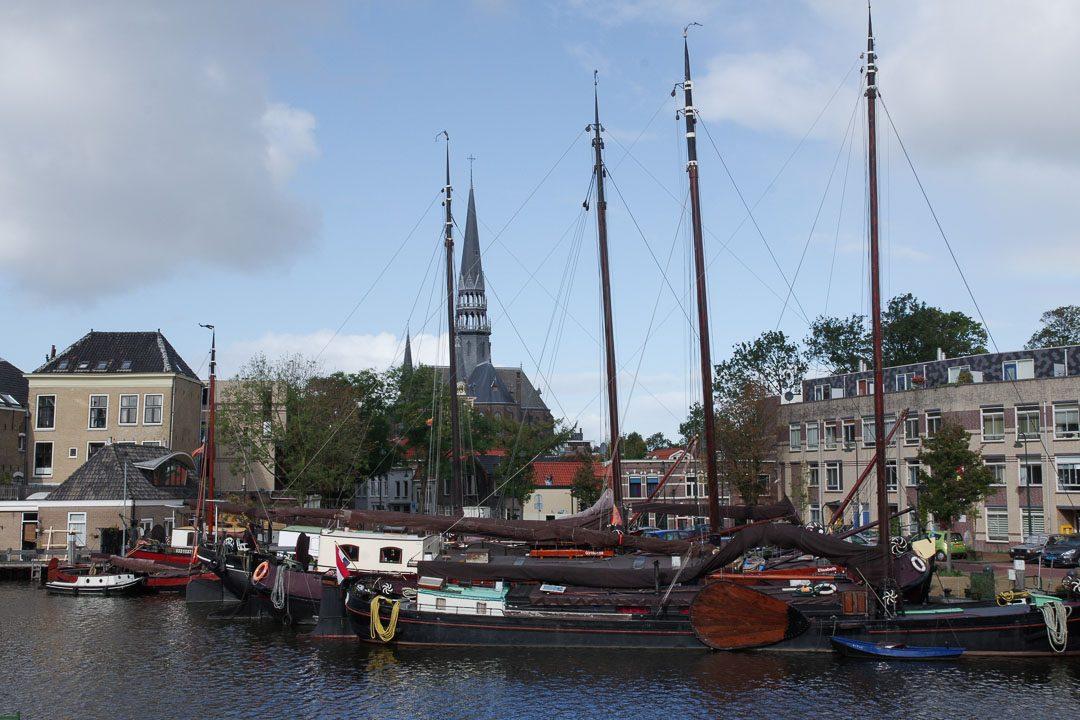 Gouwehaven : le quartier du port de Gouda