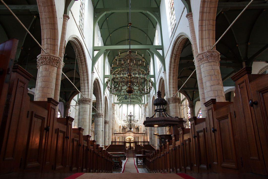 Intérieur de l'église Saint Jean de Gouda
