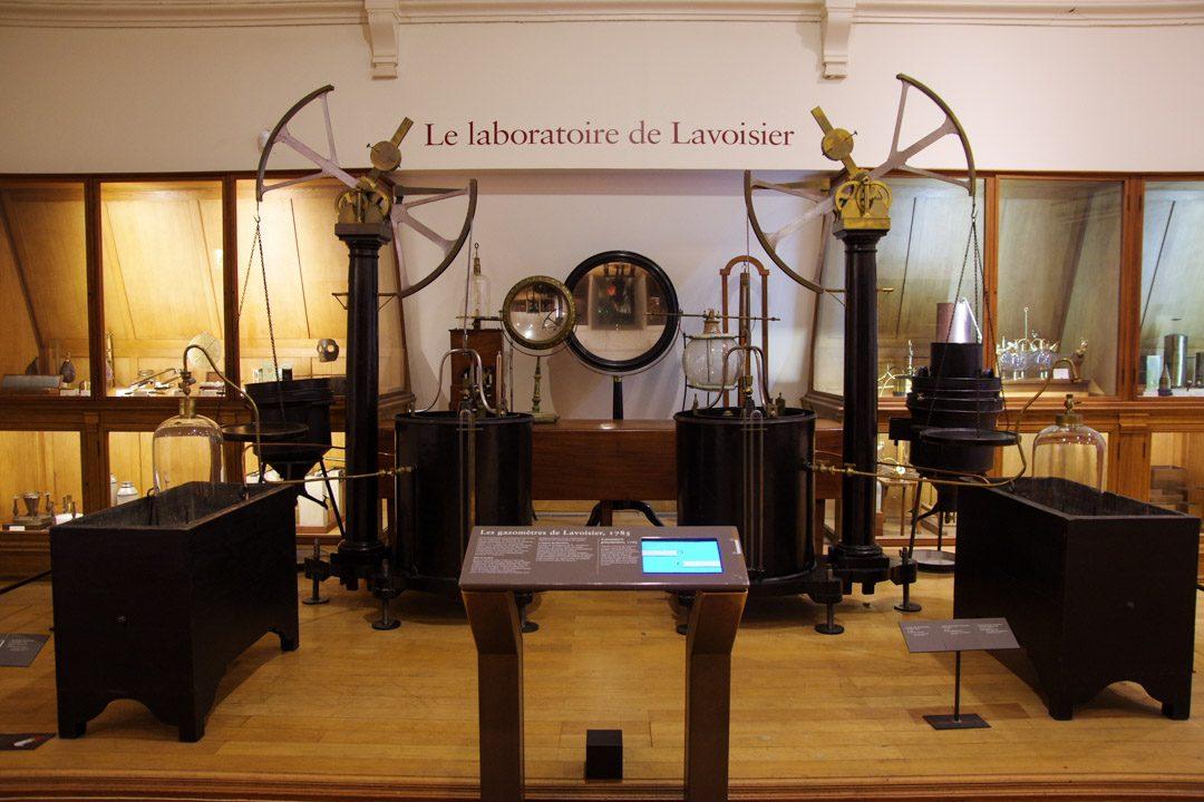 Laboration de Lavoisier - Musée des Arts et Métiers à Paris