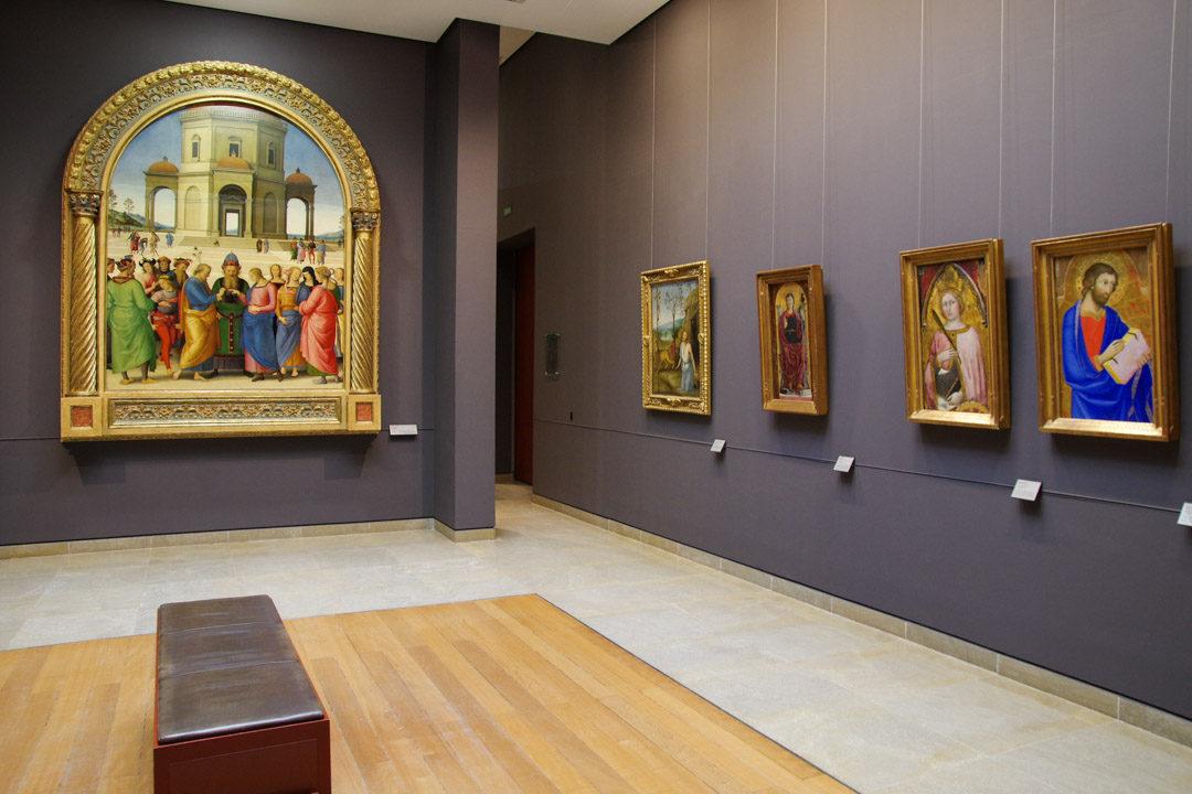 Musée Des Beaux Arts de Caen - salle du moyen age