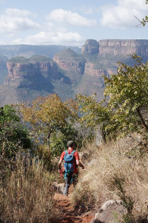 Randonnée sur le Léopard Trail - Blyde River Canyon