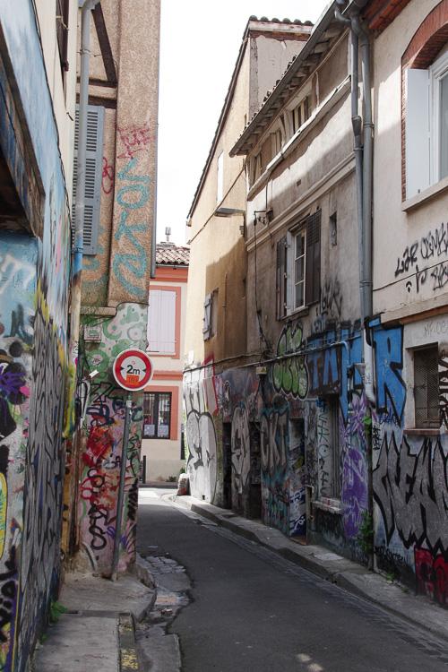 rue gramat - la rue street art de Toulouse