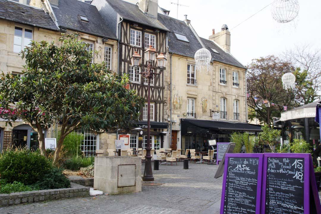 la quartier médiéval du Vaugueux