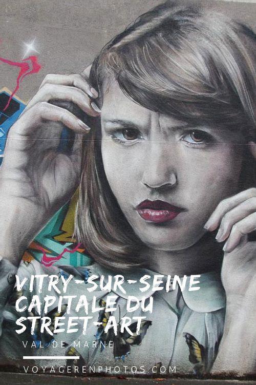 Découvrez Vitry-Sur-Seine, la capitale du Street Art dans le Val de Marne