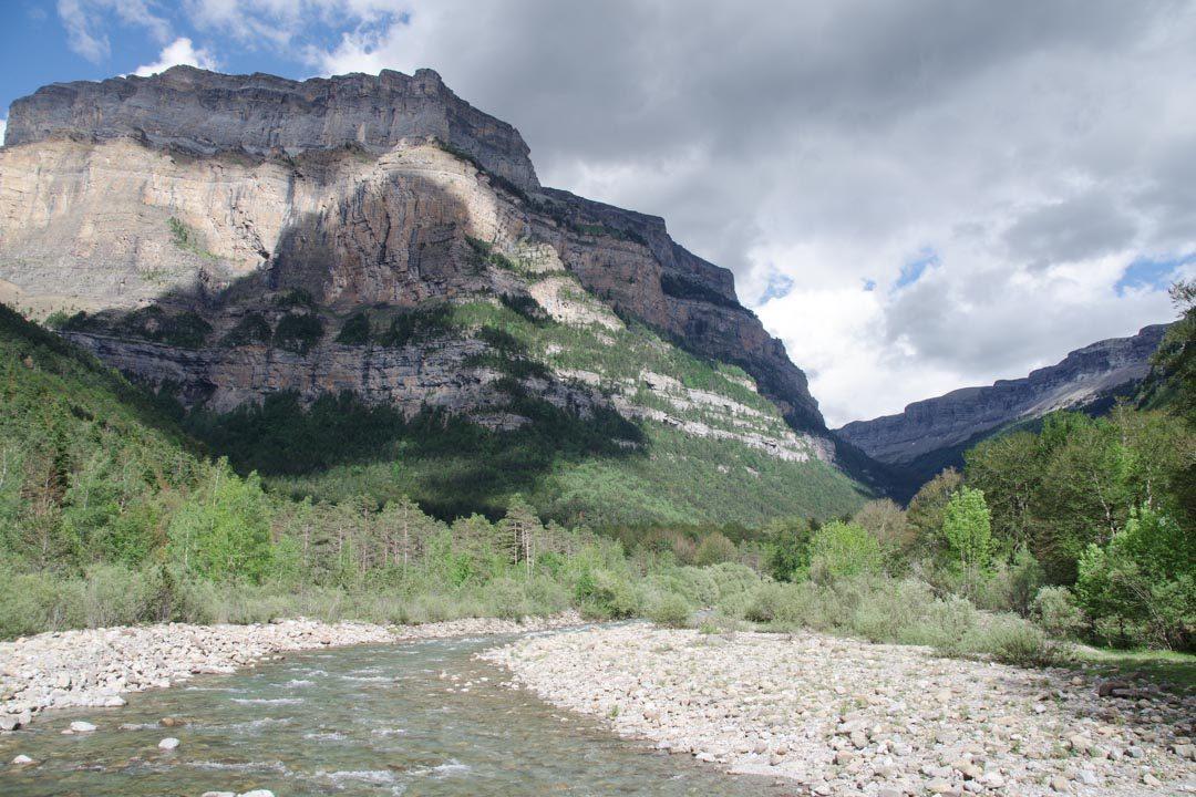Canyon d'Ordesa dans les Pyrenées Espagnoles