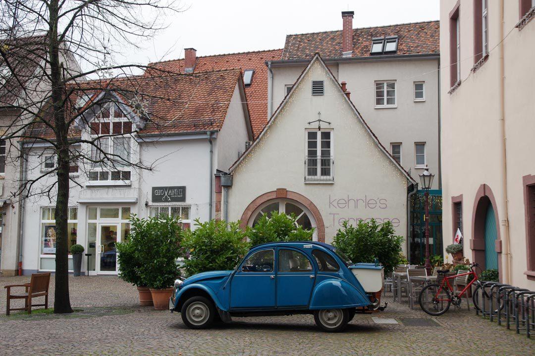 centre ville de Durlach en Allemagne