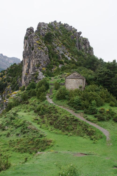 Randonnée des ermitages de Tella dans les pyrenées espagnoles