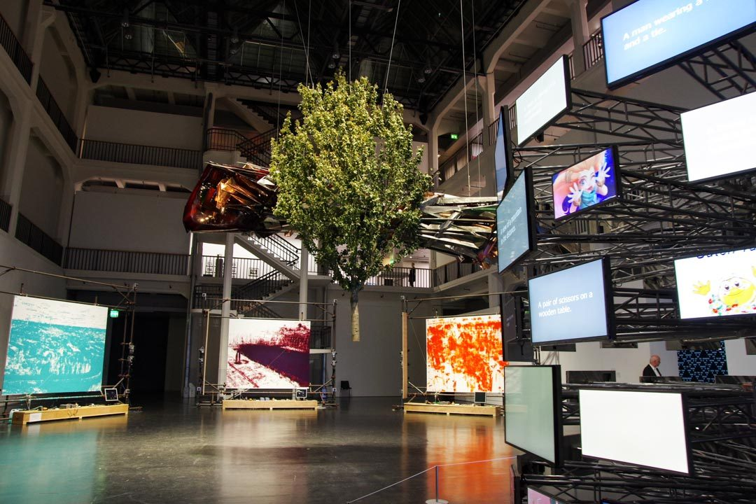 Exposition au musée ZKM de Karlsruhe