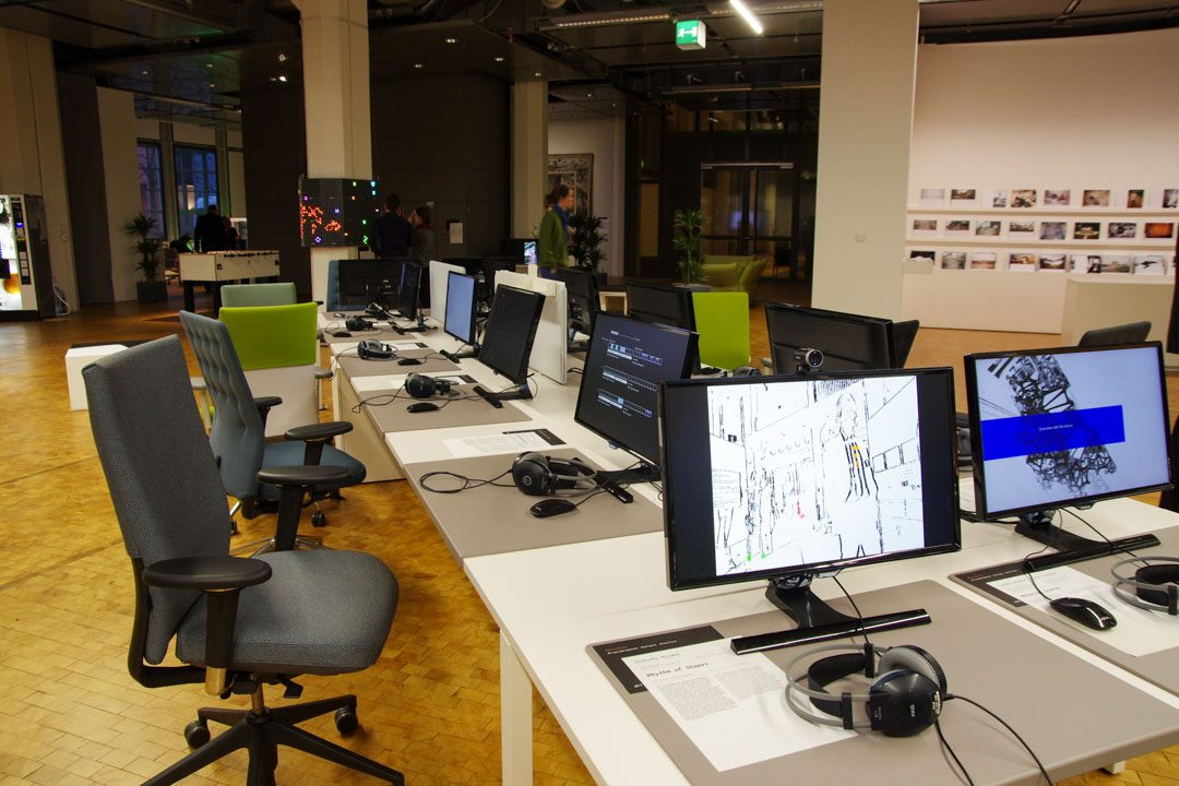 Exposition Open Codes - ZKM - Karlsruhe