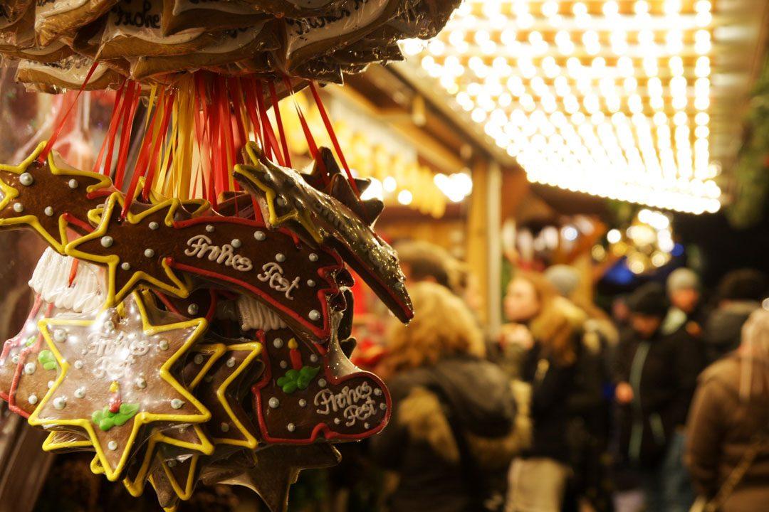 Pains d'épices du marché de noel de Karlsruhe