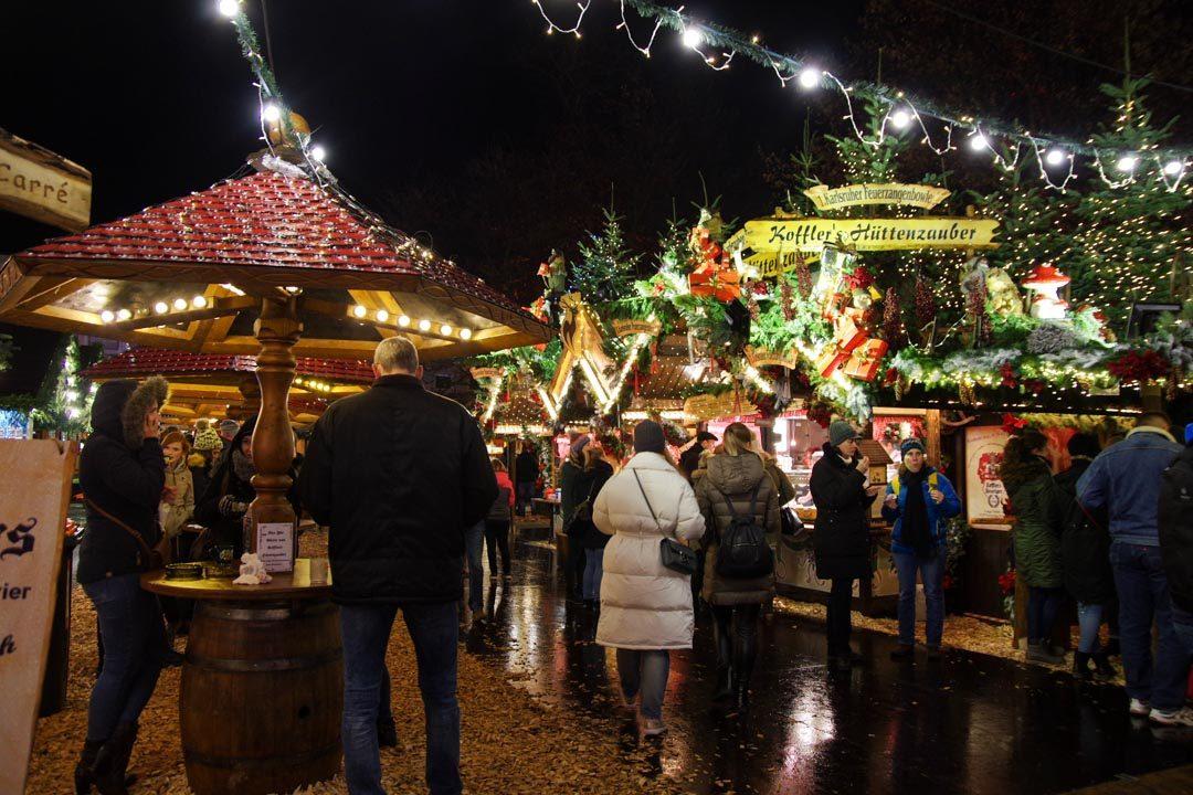balade au marché de noel de Karlsruhe