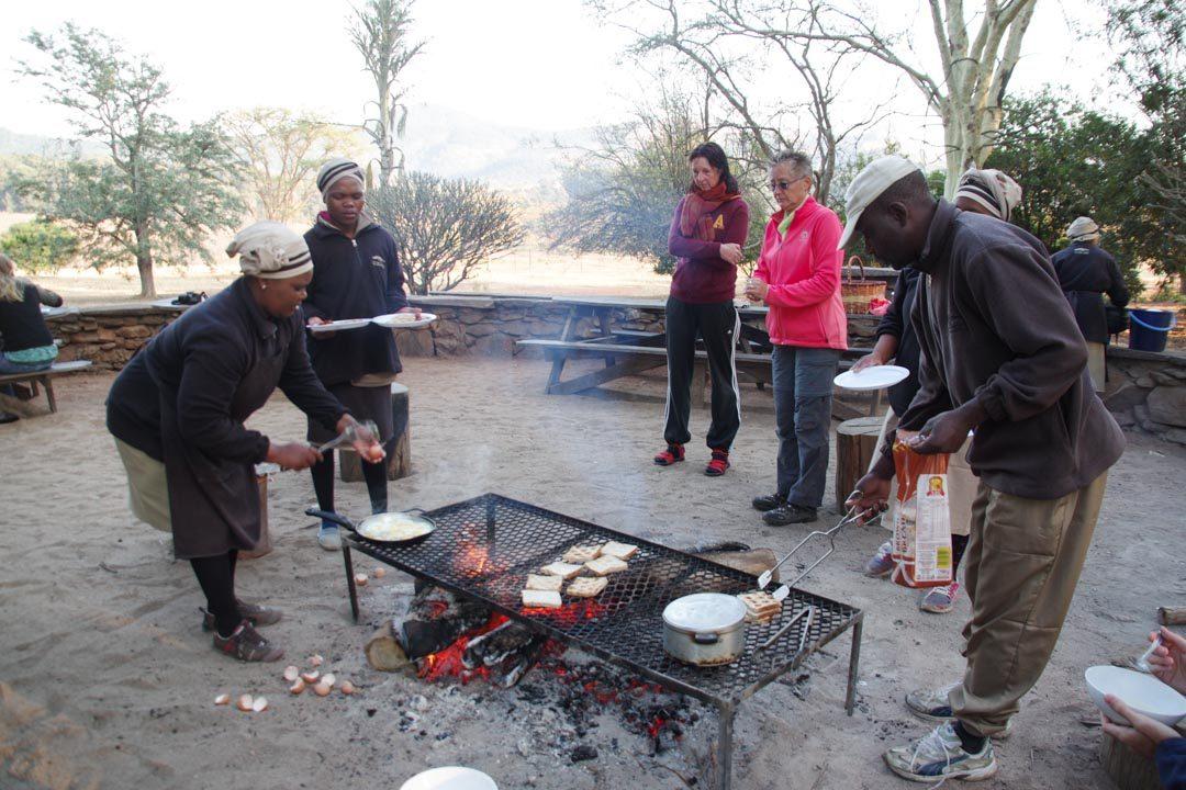 petit déjeuner de Sondzela Backpackers - Swaziland