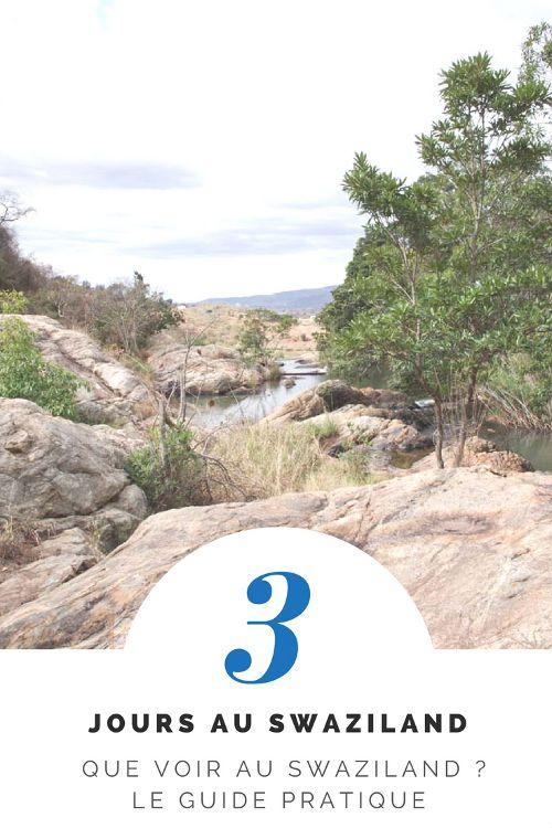 Carnet de voyage de 3 jours au Swaziland. Idées de randonnées à réaliser dans les réserves naturelles Mlilwane, Phophonyane et Malolotja. Où dormir au Swaziland ?