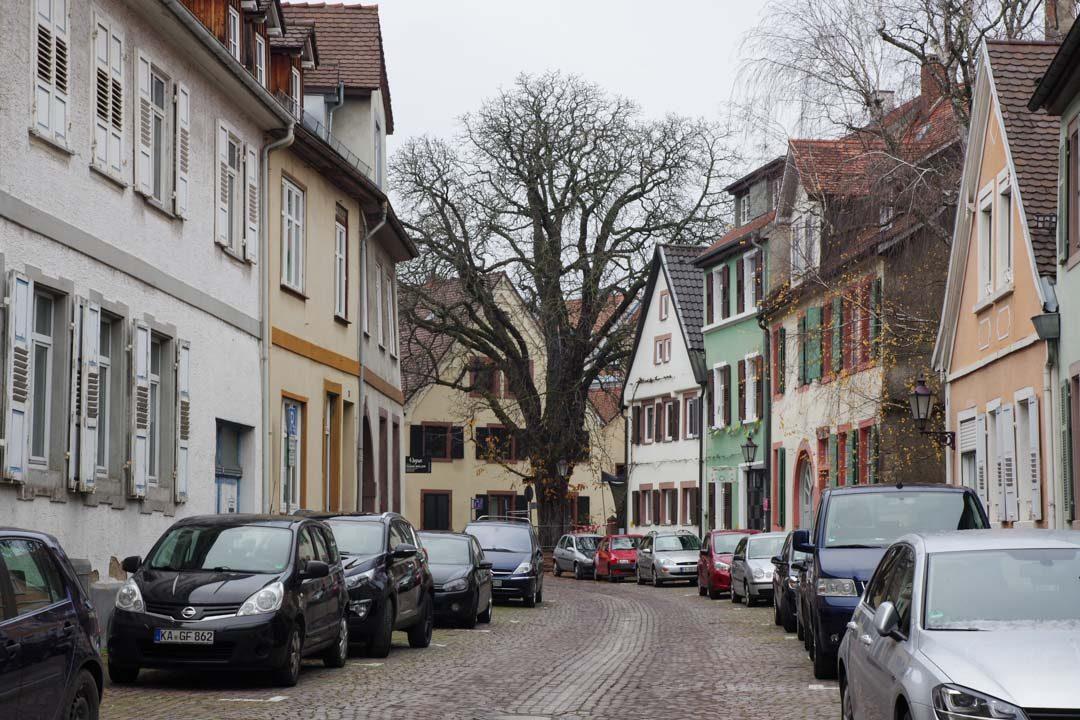 centre ville de Durlach