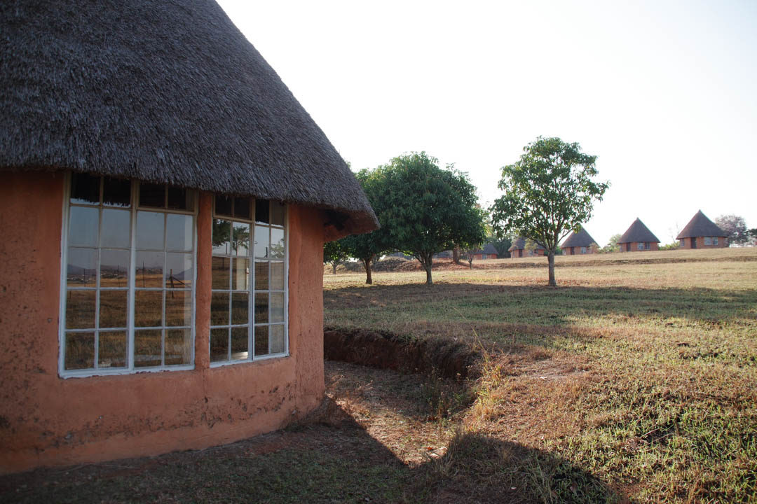 les rondavels du Sondzela Backpacker au Swaziland