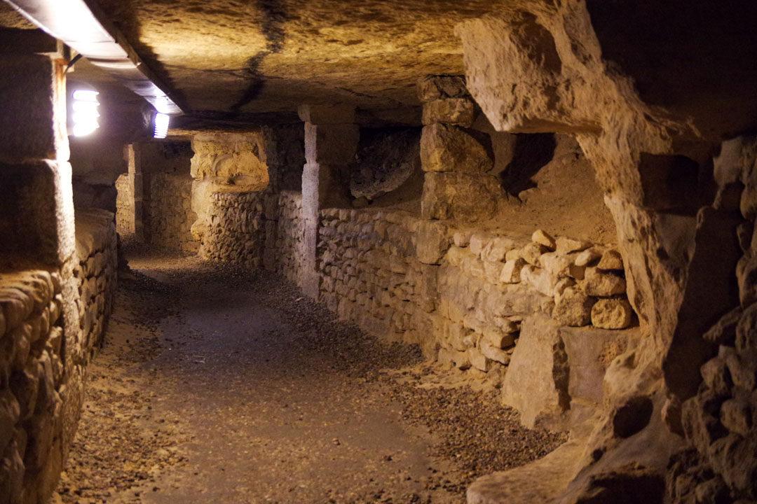les catacombes de Paris - Atelier de Pierre