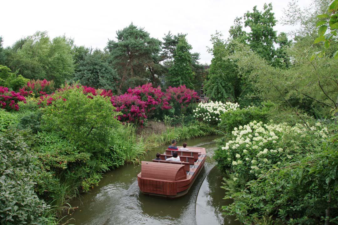Balade en barque à Terra Botanica