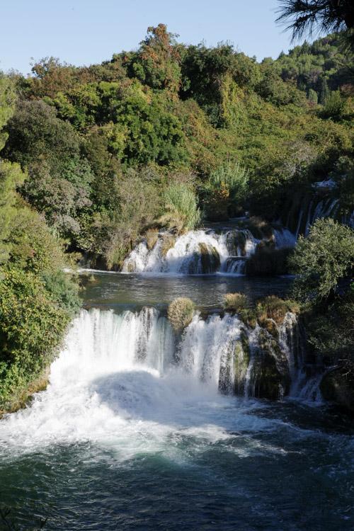 cascade de Skradinski buk - Parc National de Krka en Croatie