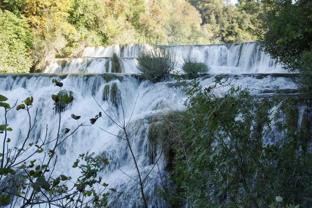 Cascade - Parc national de Krka en Croatie